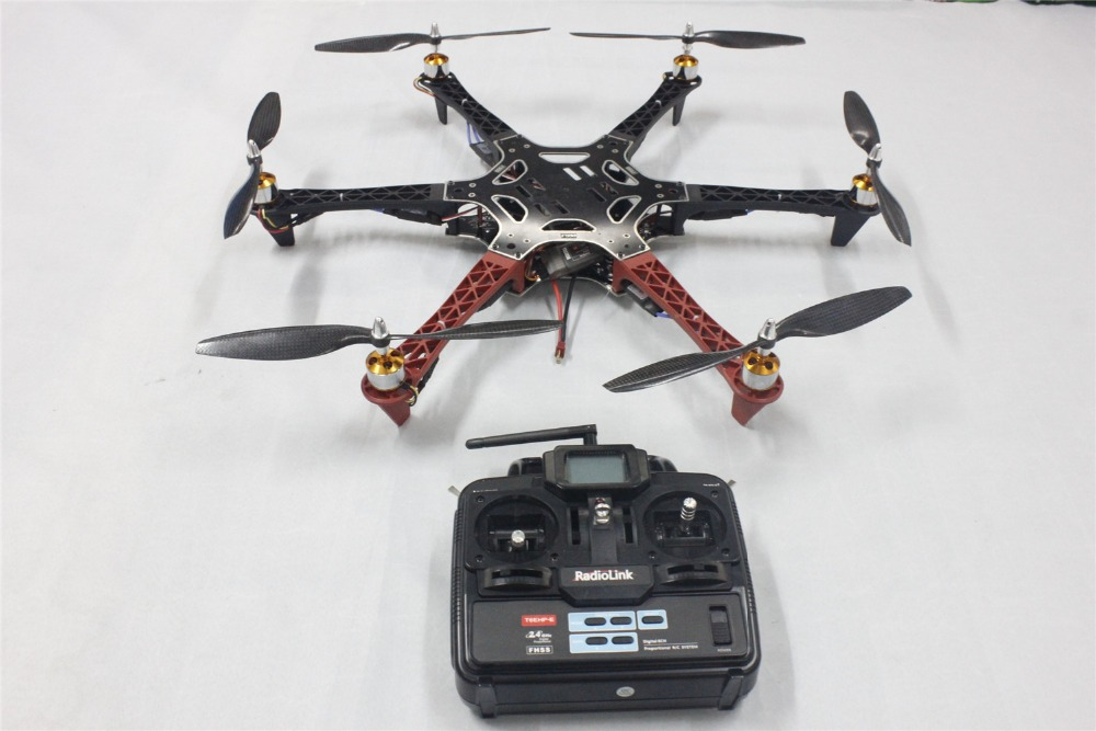 F05114 K F550 font b Drone b font Heli FlameWheel Kit With QQ SUPER Control Board