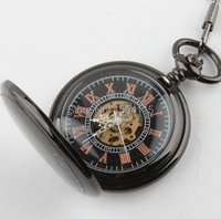 100pcs Lot DHLFree Shipping Hot Sale Vintage Mechanical Pocket Watch Hot Sale Men Pocket Watchss Christmas