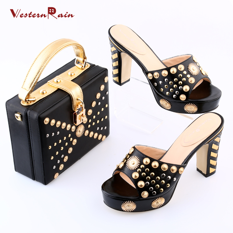 Popular Black and Gold Wedge Heels-Buy Cheap Black and Gold Wedge