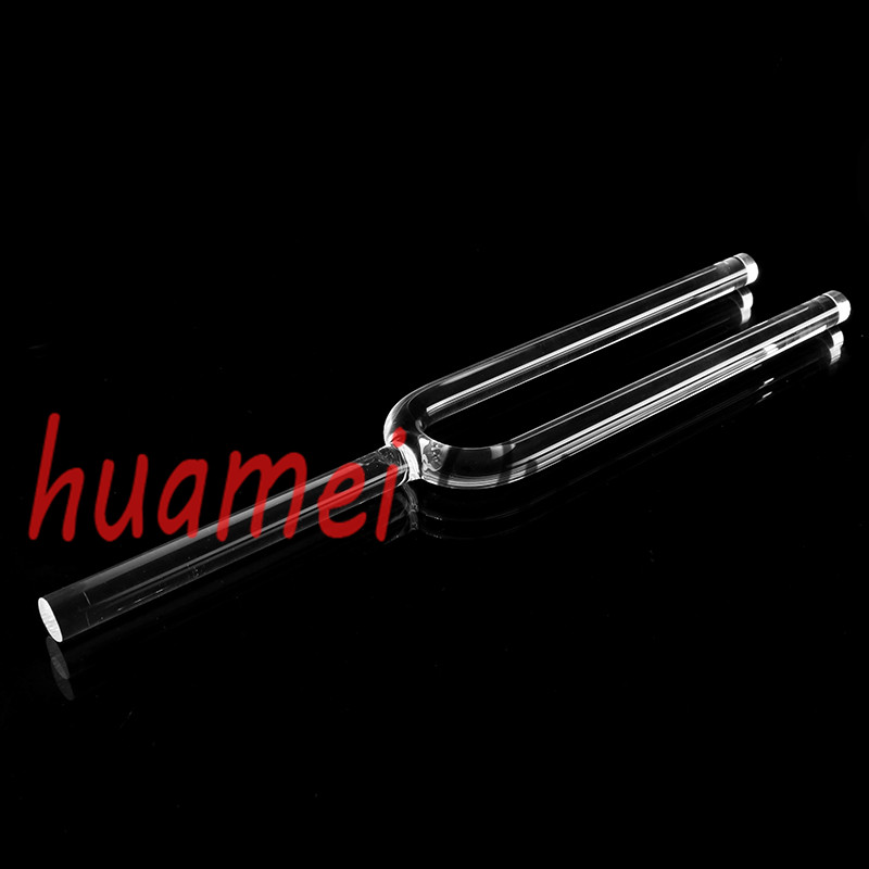16mm clear quartz crystal tuning fork  with carry bag