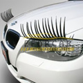 1 Pair/ 2 Pcs 3D Charming Sticker Cute Car Styling Stickers Eye Lash Eyelashes for Car Headlights Lamp Lights Decoration Decals