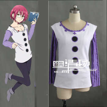 New Top Quality The Seven Deadly Sins Lust Gowther Cosplay Costume Vest+T shirt - Category 🛒 All Category