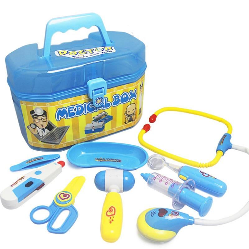 be2e7b14b41027 Nouveau 1 Set Enfants Docteur Infirmière Médicale Pretend Play Set Jouet  Éducatif Enfants Rôle Jeux Outils
