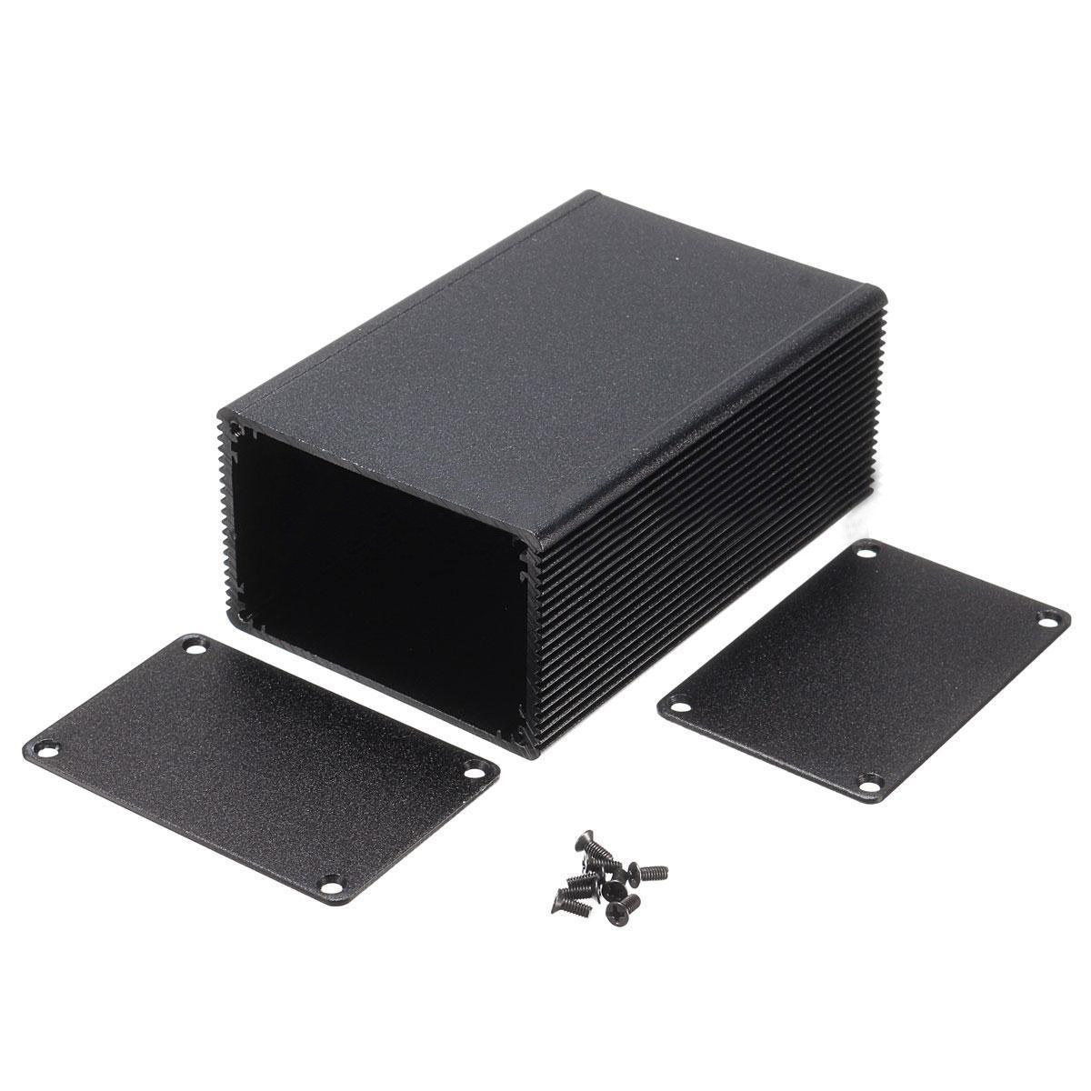 Aluminum Enclosure Electronic DIY PCB Instrument Project Box Case 100x66x43mm