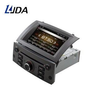 LJDA Android 10,0 автомобильный dvd-плеер для PEUGEOT 407 2004 2005 2006-2010 1DIN автомобильное радио GPS навигация DSP WIFI стерео Видео CANBUS
