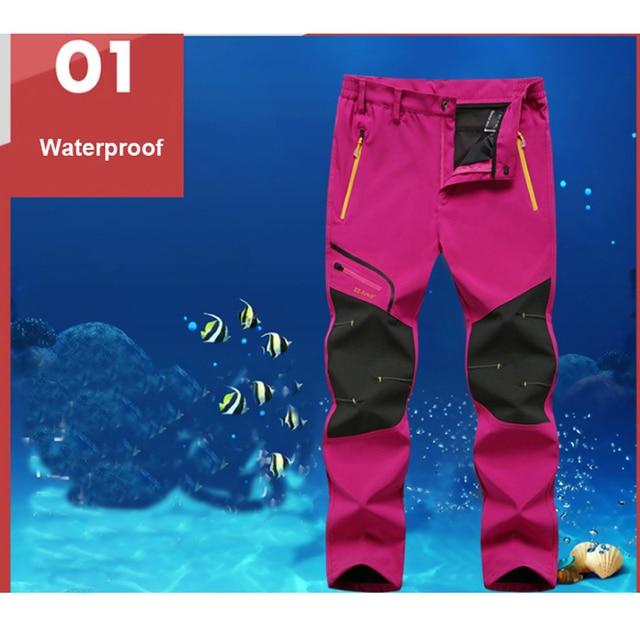 Men`s Summer Waterproof Hiking Trekking Fishing Camping Climb Run Pants 2