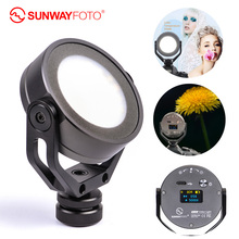 SUNWAYFOTO cámara LED de FL 54 para estudio de vídeo y fotografía, iluminación de fotografía, Youtube, fotografía, luces Led para fotografía vídeo de exterior