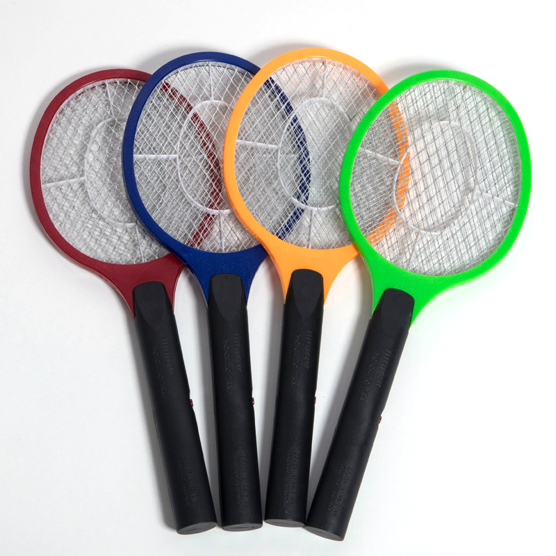 Mosquito Swatter Rechargeable LED Electric Fly Mosquito Swatter Bug Zapper Racket Insect Killer Home Kill Mosquitoes Tools