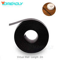 Virtual Magnetic Stripe Wall For XIAOMI Mi Roborock Vacuum Cleaner 2m Wall Accessory For Sweeping Robot