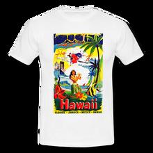 Hawaii Tourism Mens Retro Vintage T-shirt Tee Tiki Hula Hawaiian Holiday  Shirt Funny Clothing Casual Short Sleeve T Shirts 2d02620dc182