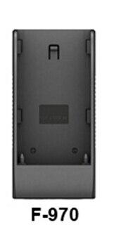 F970 Batterie Plaque pour 667GL-70 & 569 & 5D & 665 & 663 & 665/WH & 664 & 329/W & TM-1018 & RM-7028 & 969A & 969B & 779GL-70NP & FA1014-NP et 339 Série