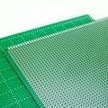 8X12 cm Placa De Ensaio de 8*12 cm Double Side Prototype pcb Universal Printed Circuit Board para Arduino 1.5mm 2.54mm Fibra De Vidro # nbp002