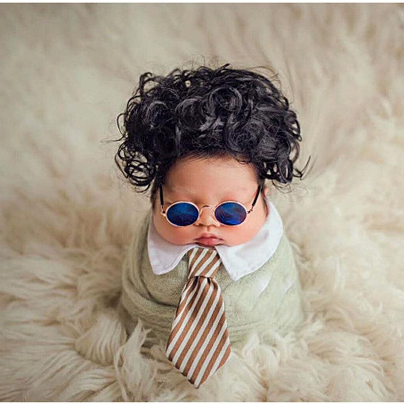 Newborn Photography Props Baby Photo Shoot Glasses Accessories Tiny Girl Boy Fotografia Props Baby Picture Shoot Studio Stuff