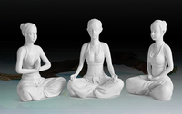 Yoga Pose Figurine Statue