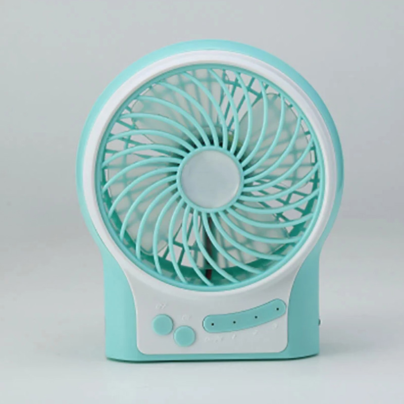 Silent Portable Rechargeable LED Fan Handheld palm Mini Operated Desk USB Fan for PC Laptop Computer Air Fan Without Battery