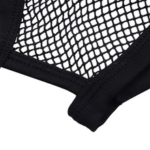 Men's Solid Mesh Open Butt Briefs