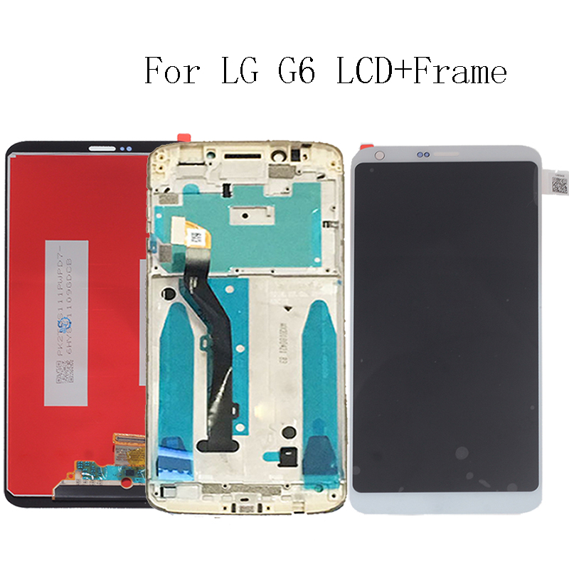 """5.7"""" Original for LG G6 Display Touch Screen with Frame H870 H870DS H873 H872 LS993 VS998 US997 Repair Kit Replacement+Free Tool-in Mobile Phone LCD Screens from Cellphones & Telecommunications"""