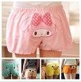 Mulher Kawaii Dos Desenhos Animados Shorts Lazer Home Wear Curto Porco Cor de Rosa/Urso Fácil/Pato Amarelo/Azul Elefante