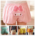 Woman Kawaii Cartoon Shorts Leisure Home Wear Short Pink Pig/Easy Bear/Yellow Duck/Blue Elephant