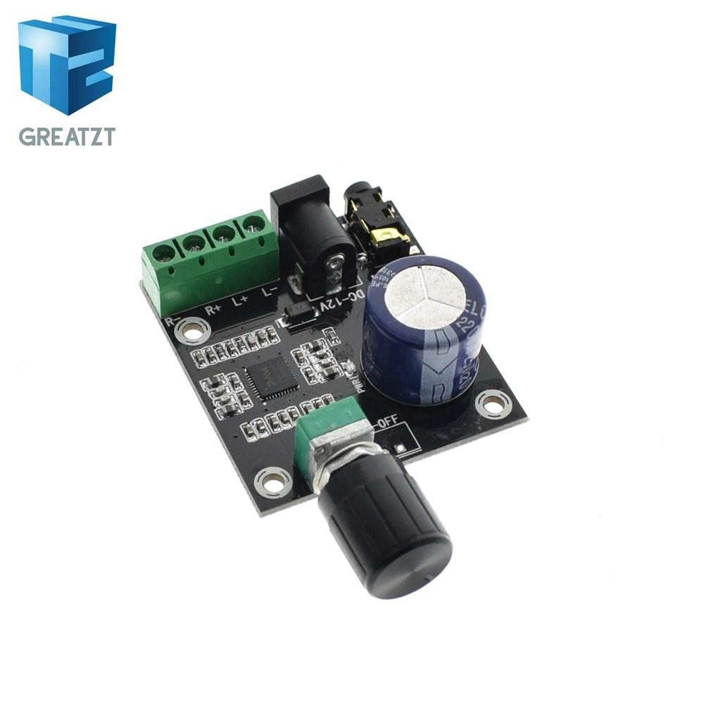 Online Shop 1pcs Super Slim 2 X 15w Pam8610 Class D Digital Dual Details About 12v Mini Hifi Audio Stereo Amplifier Circuit Greatzt Power Board