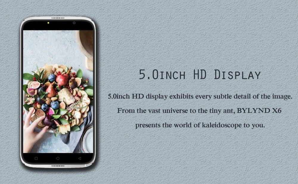 5.0inch HD Display