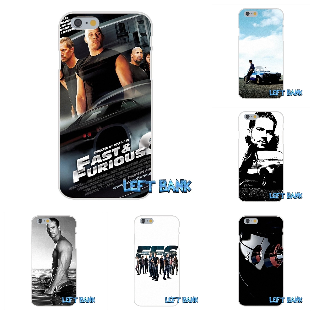 Paul Walker Vin Diesel fast furious 6 Silicon Soft Phone