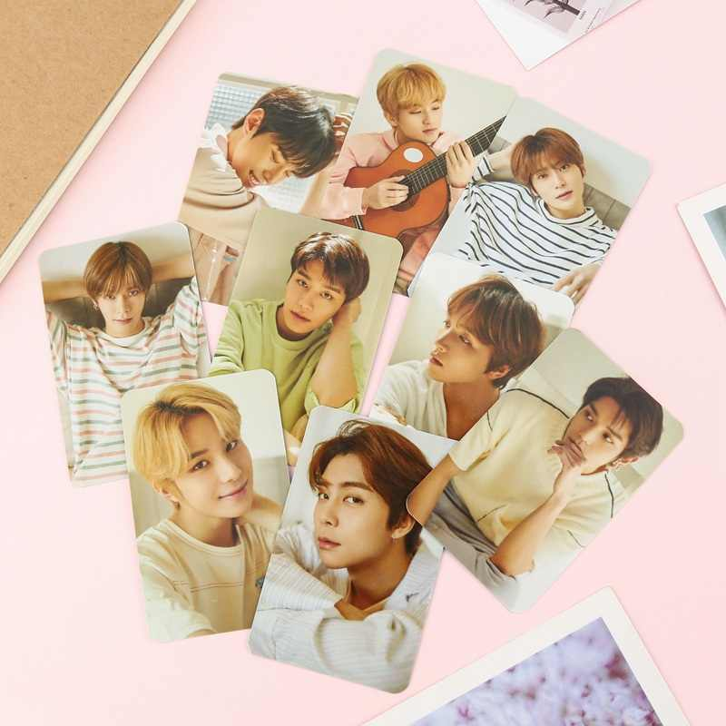 9Pcs/Set NCT 127 Photo Card Poster Lomo Cards Self Made Paper Photocard Fans Gift Collection