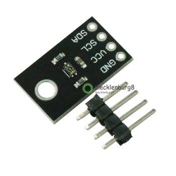 NUEVO Módulo Sensor de luz solar UVB UVA I2C veml6075, módulo de detección de intensidad de luz ultravioleta con puertos seriales y con
