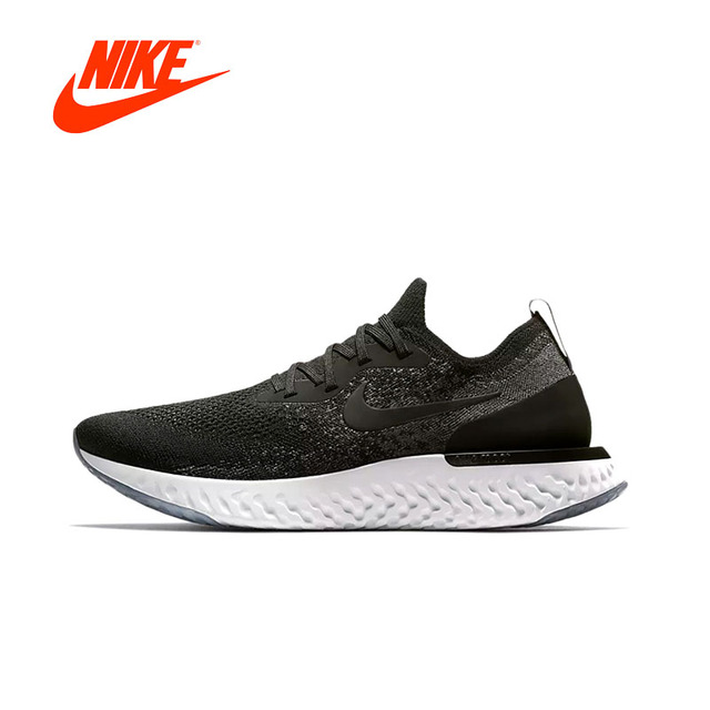 49dd42d8e89a05 Nike Epic React Flyknit Men Running Shoes Original New Arrival Authentic  Sneakers Comfortable Breathable Sport Outdoor Shoes