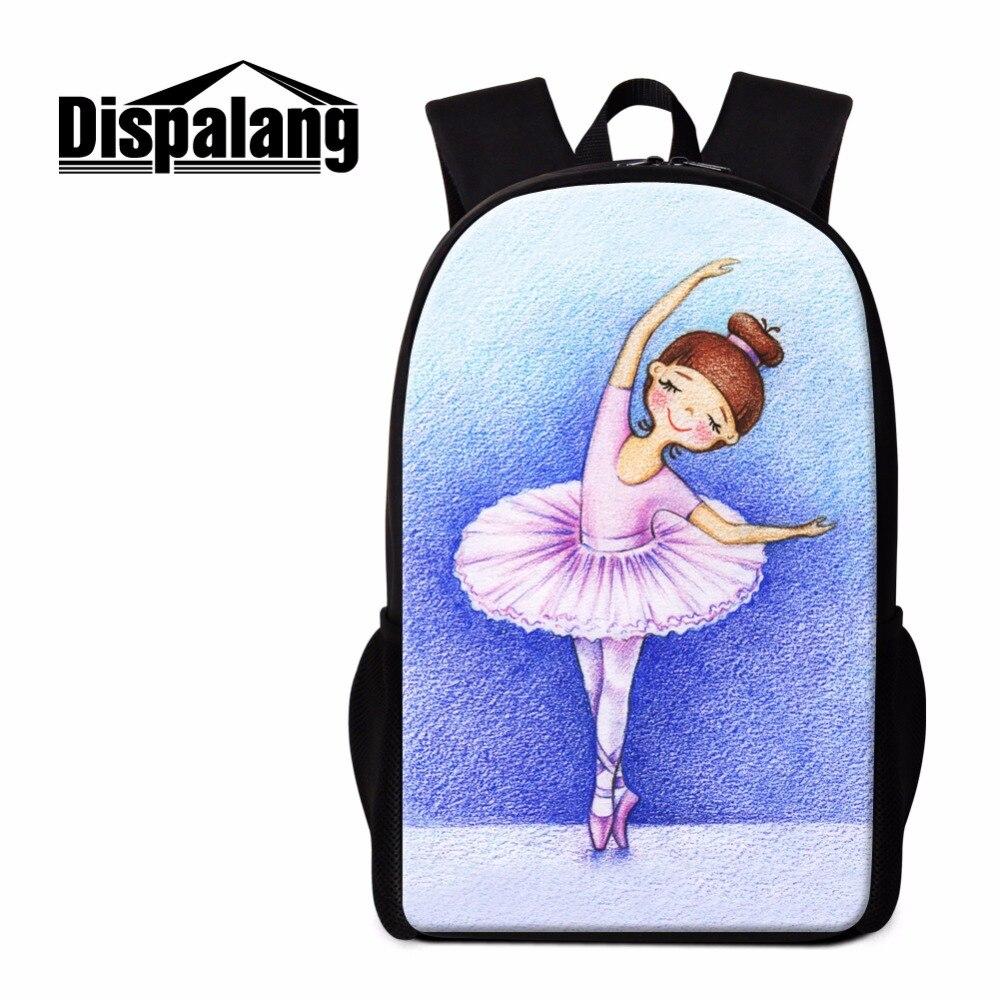 Dispalang милые Обувь для девочек школьная Рюкзаки мультфильм Bookbags качество легкий рюкзак для подростков Дети саквояж день пакет