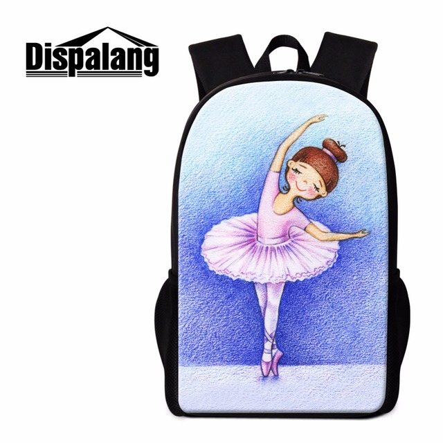 d6edbe7300 Dispalang Cute Girls School Backpacks Cartoon Bookbags Quality Lightweight Back  Pack for Teens Children Traveling Bag Day Pack