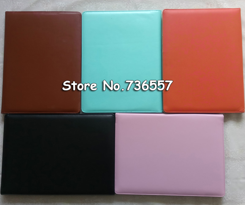 A4 document bag file folder clip board business office financial school supplies faux leather made Promotion on now