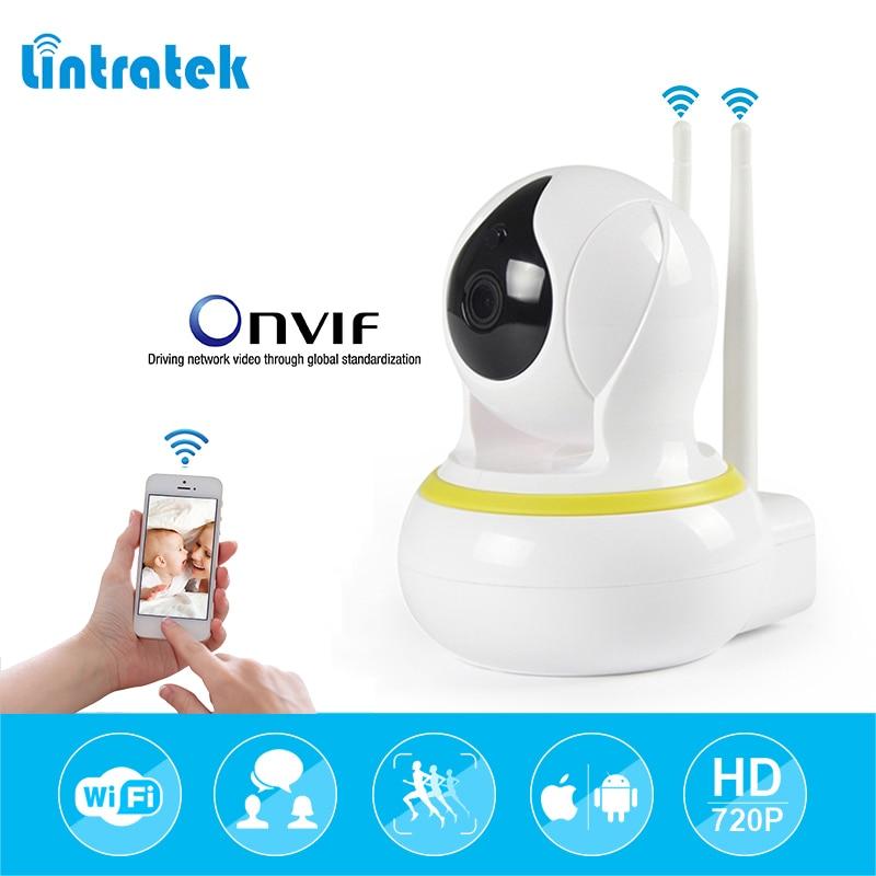 lintratek Surveillance Camera 720P Home Security Camera 10m Night Vision IR-Cut 3.6mm IP Wifi Camara Mini CCTV 64G Audio Camera