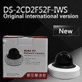 DHL frete grátis versão em inglês DS-2CD2F52F-IWS substituir DS-2CD2F55F-IWS 5MP WDR Mini PT Dome Câmera de Rede com WI-FI