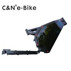 Leili Alta acciaio al carbonio 8000 w bici elettrica telaio di nuovo disegno enduro ebike batteria all'interno del telaio