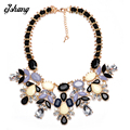 ZABrand 2016 Women Fashion Necklace Pendant Jewelry Candy Flower Statement Necklace Choker Collares Populares Beads Shourouk