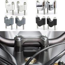 1 1/8 28mm Handlebar Risers CNC Aluminum For Triumph Street Triple S 675/R R RS Twin Scramber