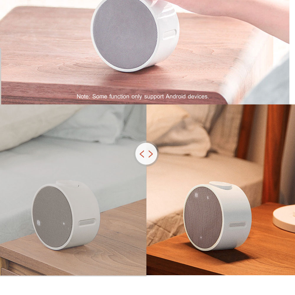 Xiaomi Mi Music Alarm Clock Bluetooth Speaker 240 Hours Standby Bluetooth 4.1 Speakers Control With APP For Android Smartphone Loudspeakers OK (2)