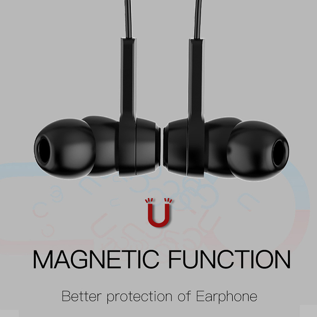 Baseus S06 Neckband Bluetooth Wireless Sports Earphones With Mic