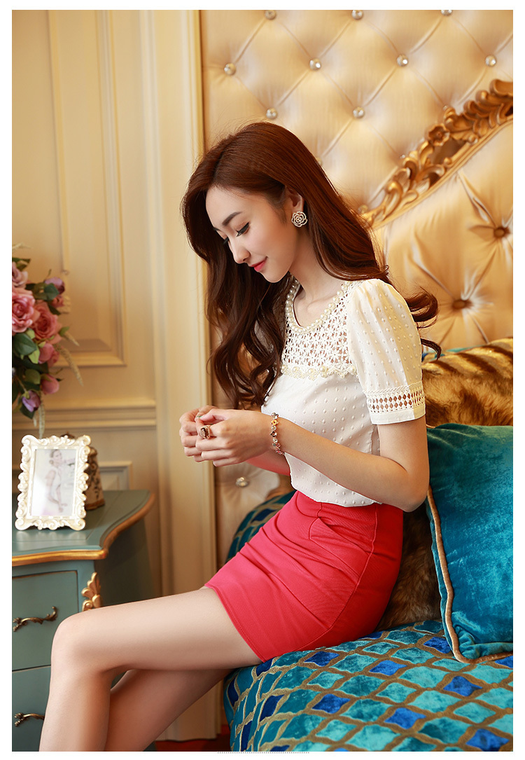 HTB1WTFkGFXXXXczXFXXq6xXFXXXh - 3D Lace Chiffon Blouse Shirt Women Clothing