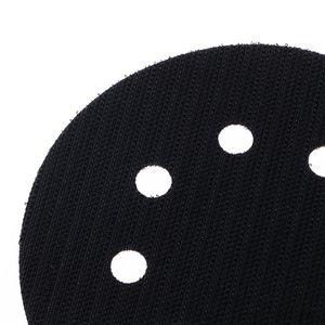 Image 4 - 5 Pollici (125 Millimetri) 8 Fori di Superficie Ultra Sottile di Protezione Piastra di Interfaccia per La Levigatura di Pastiglie E Hook & Loop Dischi Abrasivi Spugna Sottile