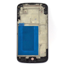 Original Faceplate Bezel Front Housing Mid Chasis Frame Parts For LG Google Nexus 4 E960 free shipping With Tracking Number