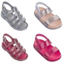 sandal anak-anak dengan sepatu anak-anak busur modis