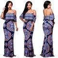 2017 Африканский Одежда Африканских Платья Африка Базен Riche Для Женщин Одежда Горячие Продажа Хлопка Новый Сексуальная Одежда Мода