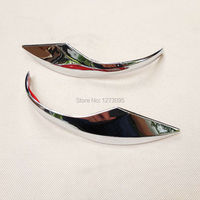 For 2014 2015 2016 2017 Toyota Corolla ABS Chrome Rearview Mirror Trim Side Wing Mirror Protector Strip Auto Styling Accessories