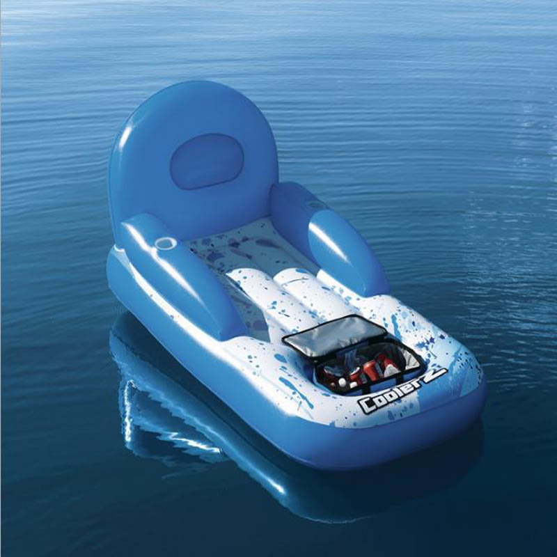 Océan paradis flottant de l'eau de la ligne flottante chaise longue ligne flottante lit flottant flotador gigante opblaasbare zwembad speelgoed