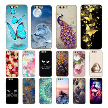 Honor 9 Case Cover, Printing Soft Silicone TPU Back Phone Cover for Huawei honor Mobile Premium