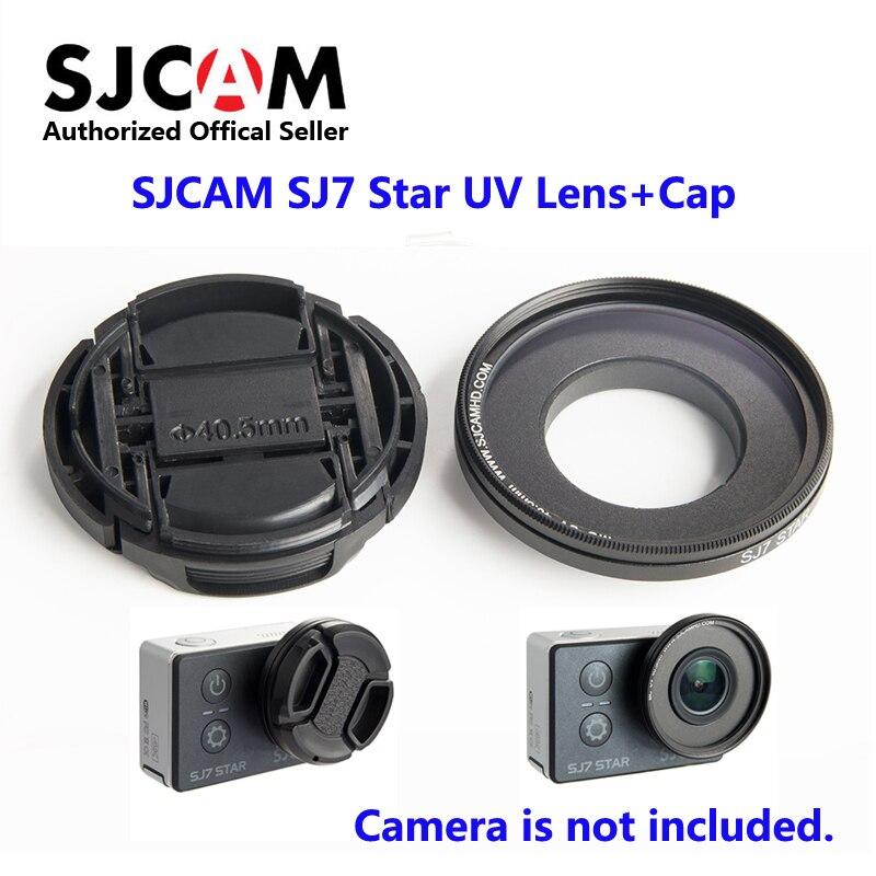 Original SJCAM SJ7 Star MC UV Lens 4 05cm with Protection Cap Anti Scratch Lens