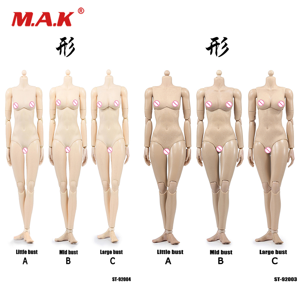 <font><b>1/6</b></font> Scale XING Series Repay Version Super flexible <font><b>Sexy</b></font> Female Figure Body Suntan/Pale Color With Joints for 12'' Action Figure image