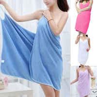 Tragen Quick Dry Bad Handtuch Mikrofaser Solid Damen Pareo Sarong Strand Bikini Sommer Wickeltuch Bademode Handtuch Casual Kleid